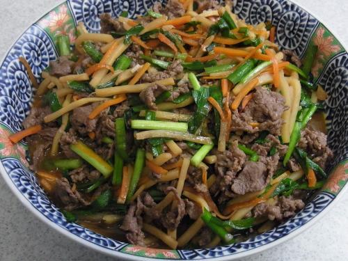 110724-010牛肉と野菜の炒め(縮小)