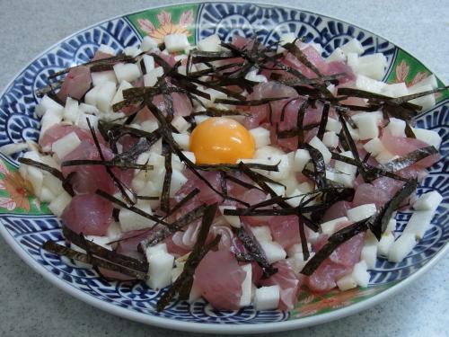 110807-020まぐろと長芋のタルタル(縮小)