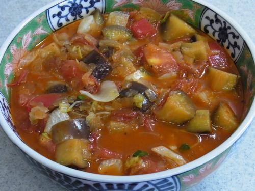110807-030茄子のトマト煮冷バージョン(縮小)