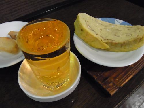 110819-014出汁巻き玉子と梅割り(縮小)