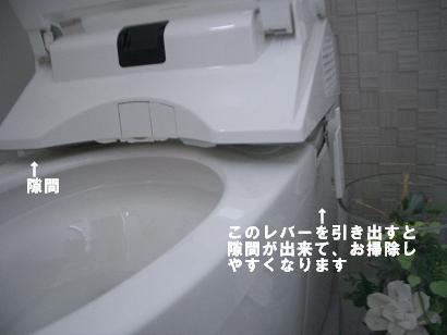 トイレ手入れ