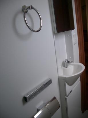 竣工1Fトイレ 手洗い