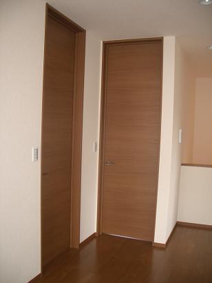子供部屋ドア入口