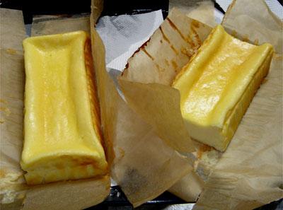 チーズケーキ1 長男作