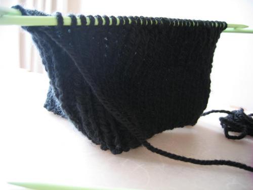 編みかけ2