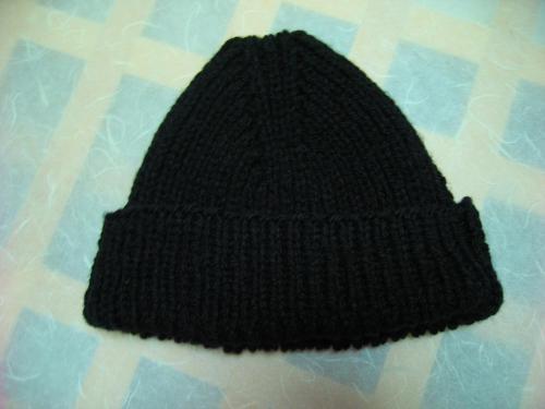 帽子完成図