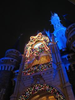 シンデレラ城夜のライトアップ