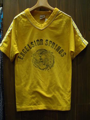 キッズTシャツ黄色前