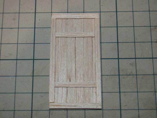 1階のドア