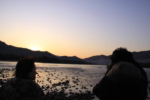 いそべの朝霧撮影in荒川