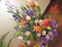 2012年ポジャギ展 頂いたお花