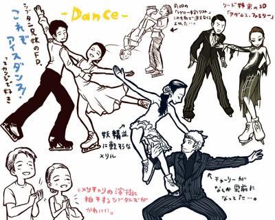 NHKアイスダンス2010