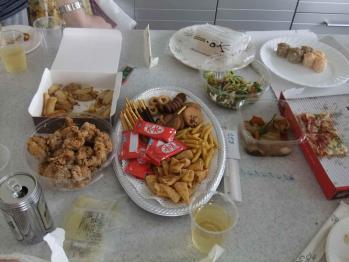 オフ会のお料理