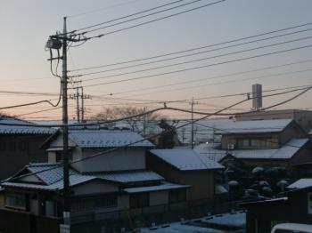 2010.2.2雪景色。