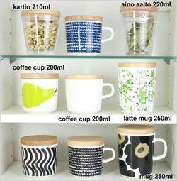 マリメッコOIVAコーヒーカップ用木蓋