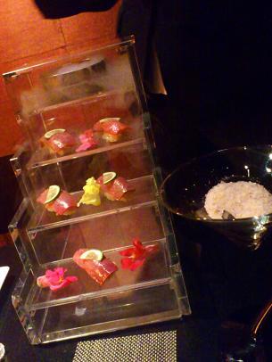 ガラスのシンデレラ握り寿司