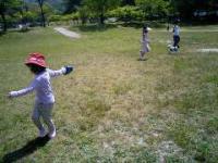 2007.5.7犬のお散歩を体験