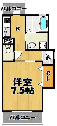 メゾンド205号室