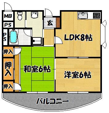 ひまわり3号室(47,09㎡)