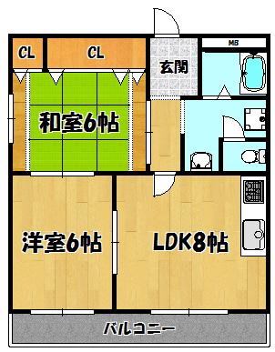 K1マンション(208号)
