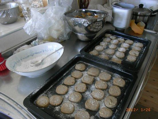 フスマのクッキー