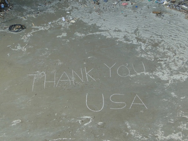 THANK YOU USA