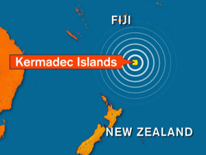 NZ tsunami warning downgraded after 7.8 quake (Source ONE News)