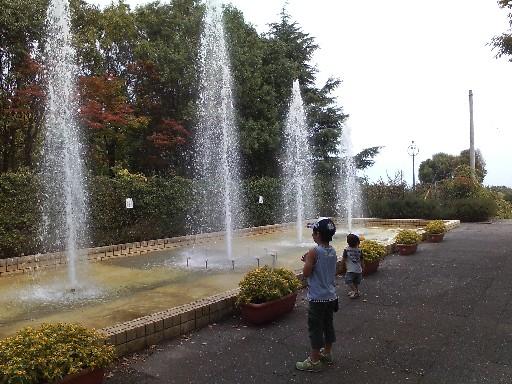 花畑園芸公園・噴水