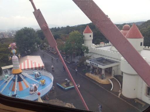 福岡市動物園・観覧車からの風景