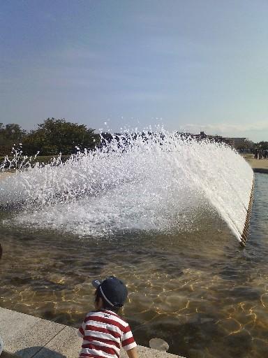 海中公園・噴水