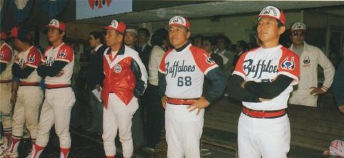 '79日本シリーズ近鉄ベンチ