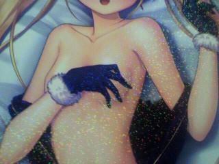 リシア「甘えさせてくれ」抱き枕カバー裏側? 特製ピクチャープレート画像