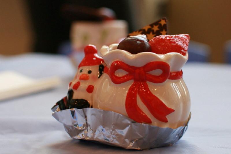 スタバのミニケーキ