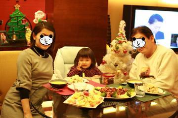 イブ家族写真