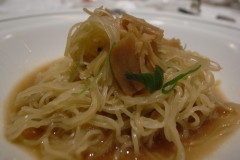 生姜味の麺