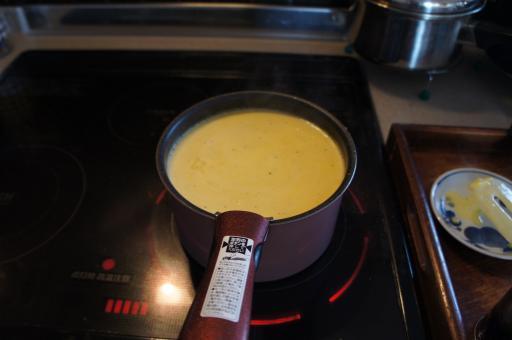 カボチャスープ2