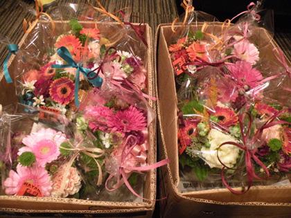 HAVANKさんのお花、サチさんから♪