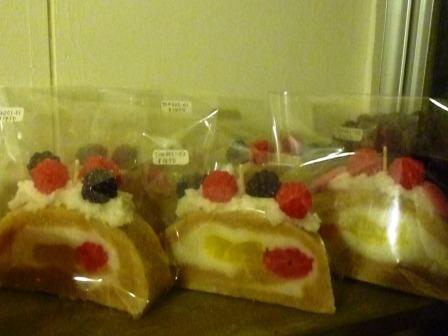 中崎町【BISCUIT CAFE】Yu:kiさんのお店のケーキろうそく