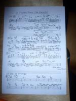 『孔雀・・・』という曲の楽譜