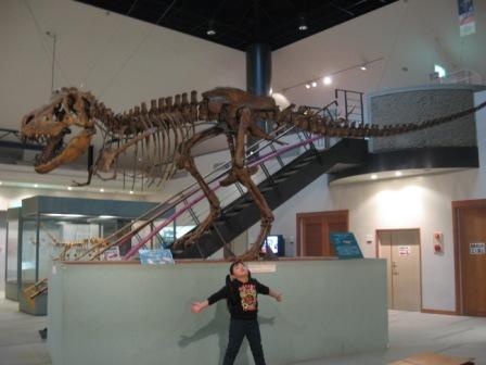 IMG_0049室内巨大恐竜化石と実織
