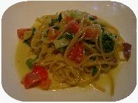 ジャルディーノ夏野菜のクリームパスタ