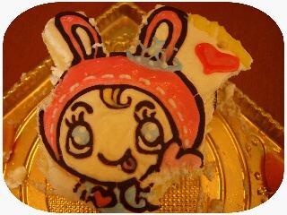 食べちゃったケーキ