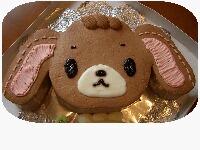くろうさケーキ