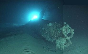 Japanese_Ko-hyoteki_class_mini-submarine_sunk_by_USS_Ward_at_Pearl_Harbor.jpg