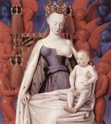 ムーランの聖母子 フーケ