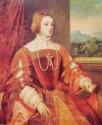 イザベラ皇妃 ティツィアーノ