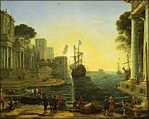クリュセイスを父親のもとに返すオデュッセウス