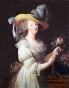 ガリア服を着た王妃マリーアントワネット