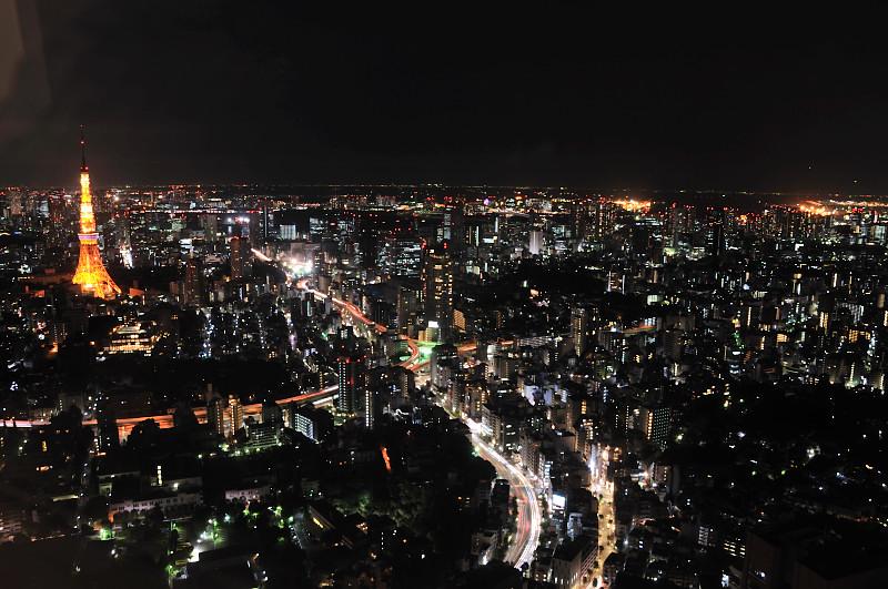 東京タワーとジャンクション_
