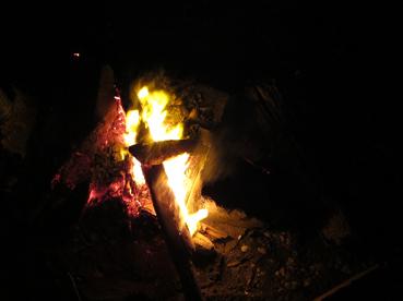 焚き火2010